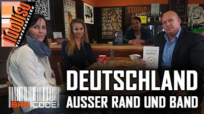 Deutschland außer Rand und Band – #BarCode mit Petra Paulsen, Heiko Schrang und Katrin Nolte