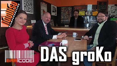 Das groKo – BarCode mit Dr. Torsten Voß, Julia Szarvasy, Norbert Fleischer