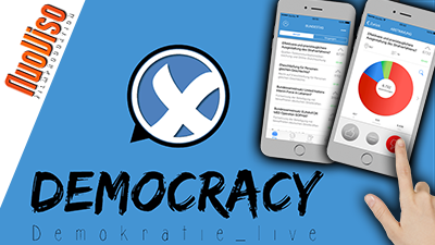 """""""Democracy"""" – Volksabstimmung per Handy – Marius Krüger im NuoViso Talk"""