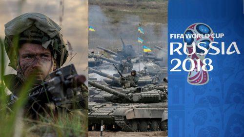 Dieser Sommer wird heiß: WM-Militäroffensive + Ramstein-Blockade