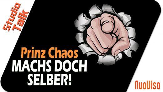 """""""Mach's doch selber!"""" – Prinz Chaos im NuoViso Talk"""