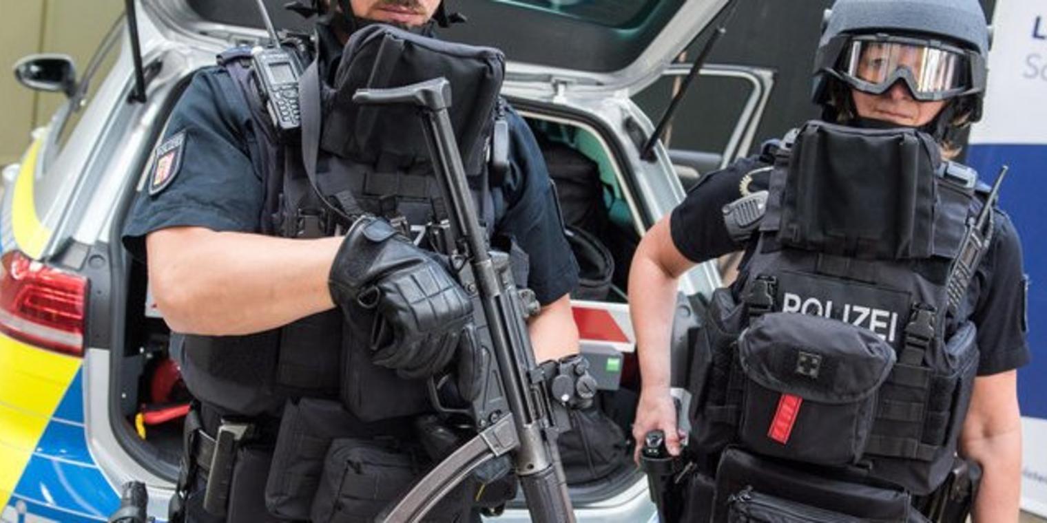 """""""NEIN!"""": Polizei beschränkt Demo gegen Polizeiaufrüstung"""
