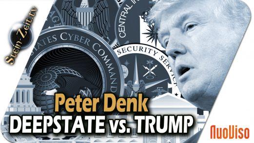 Deep State vs. Trump – Die Masken Fallen – Peter Denk bei SteinZeit