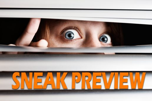 SNEAK PREVIEW – Lass Dich überraschen