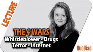 The Four Wars: Terror, whistleblowers, drugs, internet – Annie Machon