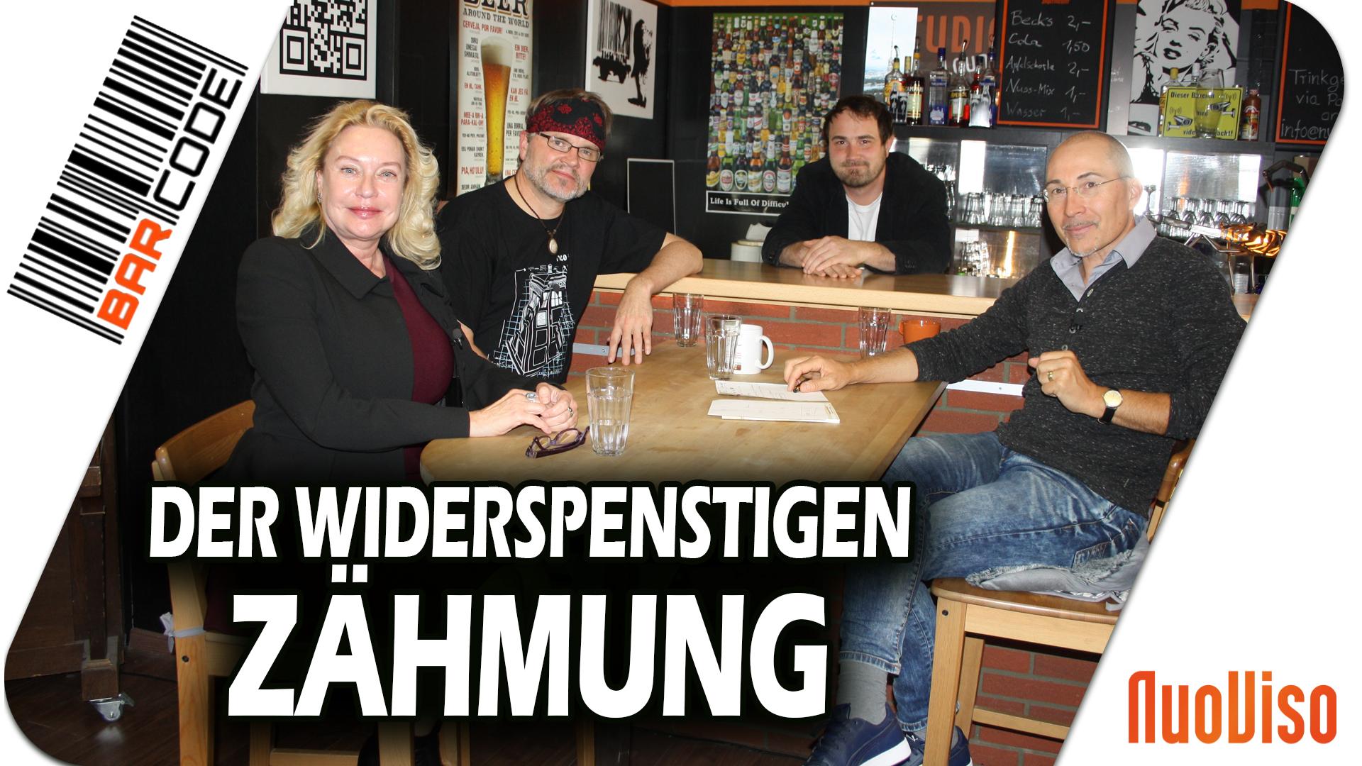 Der Widerspenstigen Zähmung – #BarCode mit Claudia Zimmermann & Bodo Schickentanz