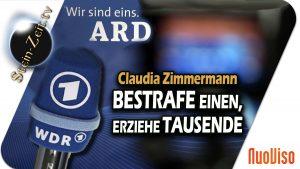 Bestrafe Einen, erziehe Tausende – Claudia Zimmermann bei SteinZeit