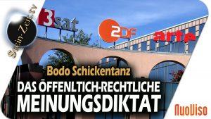 Das öffentlich-rechtliche Meinungsdiktat – Bodo Schickentanz bei SteinZeit