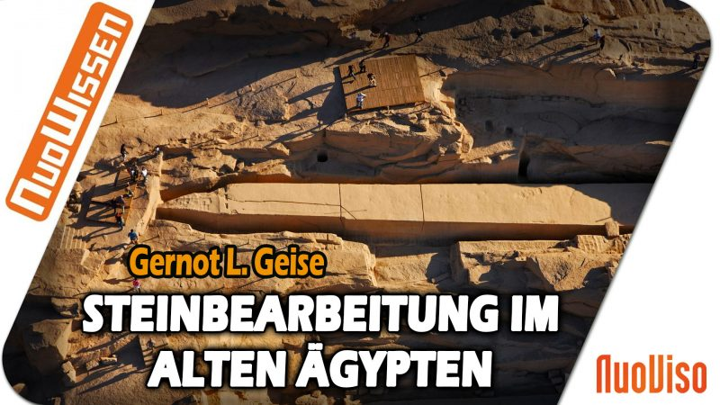 Steinbearbeitung im Alten Ägypten – Gernot L. Geise