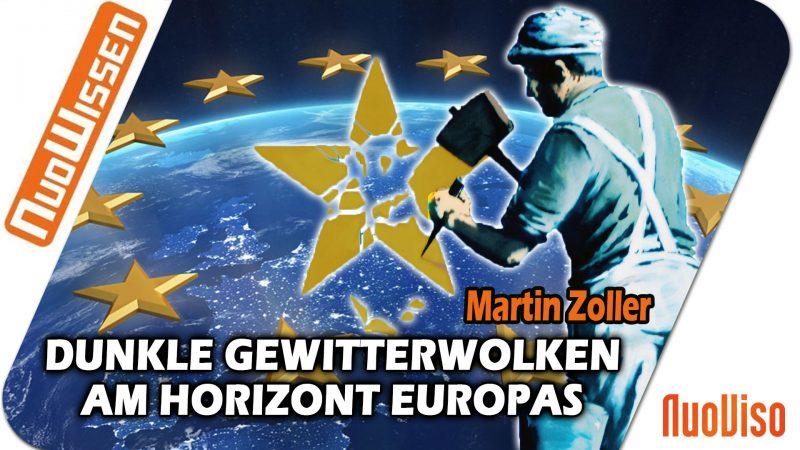 Dunkle Gewitterwolken am Horizont Europas – Martin Zoller (Regentreff 2018)