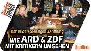 Der Widerspenstigen Zähmung: Wie ARD & ZDF mit Kritikern umgehen – #BarCode mit Claudia Zimmermann & Bodo Schickentanz
