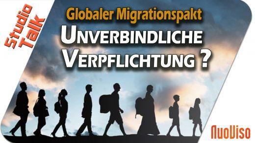 """Migrationspakt – Eine """"unverbindliche Verpflichtung"""" – Holger Strohm im NuoViso Talk"""