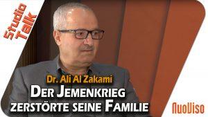 Der Jemenkrieg zerstörte seine Familie – Dr. Ali Al Zakami im NuoViso Talk