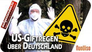 US-Giftregen über Deutschland