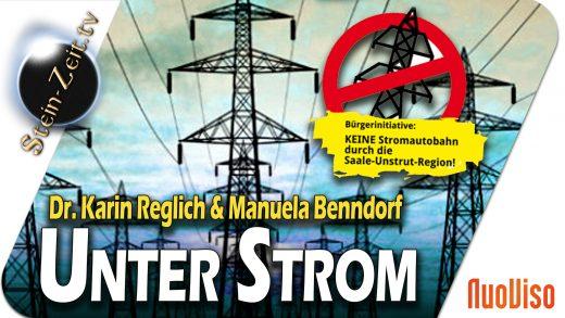 Unter Strom – Dr. Karin Reglich & Manuela Benndorf bei SteinZeit
