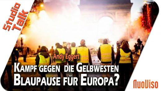 Kampf gegen die Gelbwesten: Blaupause für Europa? – Andy Eggert im NuoViso Talk