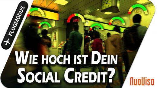 Wie hoch ist Dein Social Credit?