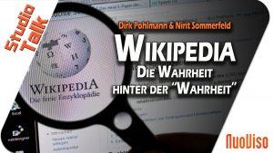 """Wikipedia – Die Wahrheit hinter der """"Wahrheit"""" – Dirk Pohlmann & Nirit Sommerfeld im NuoViso Talk"""