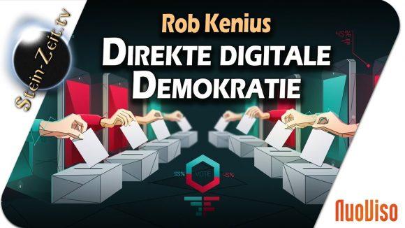 Direkte Digitale Demokratie – Rob Kenius bei SteinZeit