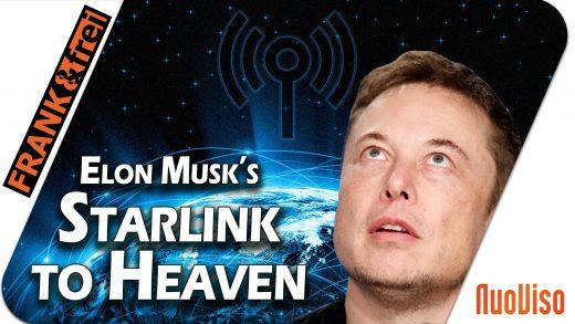 Elon Musk's Starlink to Heaven