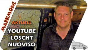MARKmobil Aktuell – Youtube löscht Nuoviso