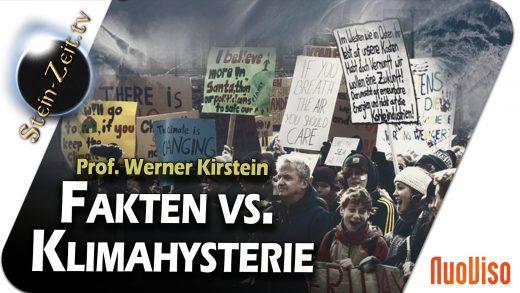 Fakten vs. Klimahysterie – Prof. Werner Kirstein bei SteinZeit