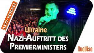 Ukraine: Nazi-Auftritt des Premierministers