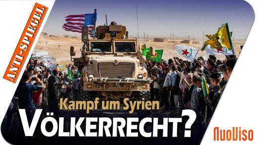 Entwicklungen in Syrien: Der Spiegel zeigt Verachtung für das Völkerrecht