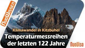 Klimawandel in KITZBÜHEL: Amtliche Schnee- und Temperaturmessreihen (122 Jahre)