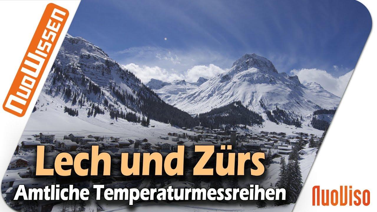 LECH und ZÜRS  – Eine Analyse amtlicher Temperatur-und Schneemessreihen