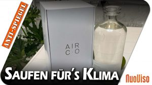 Saufen für´s Klima – US-Firma stellt Wodka aus CO2 her