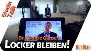 Locker bleiben! – Dr. Daniele Ganser im NuoViso Talk