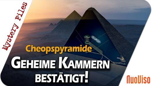 Cheops-Pyramide: Verborgene Kammern erneut bestätigt – Mystery Files #14