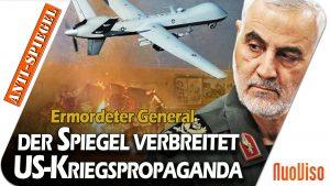 Ermordeter iranischer General: Spiegel betreibt offen US-Kriegspropaganda