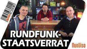 Rundfunkstaatsverrat – Olaf Kretschmann bei BarCode