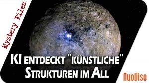 """KI entdeckt """"künstliche"""" Strukturen im All – Mystery Files #20"""