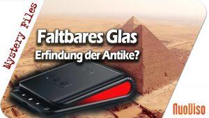 Faltbares Glas – Erfindung der Antike?