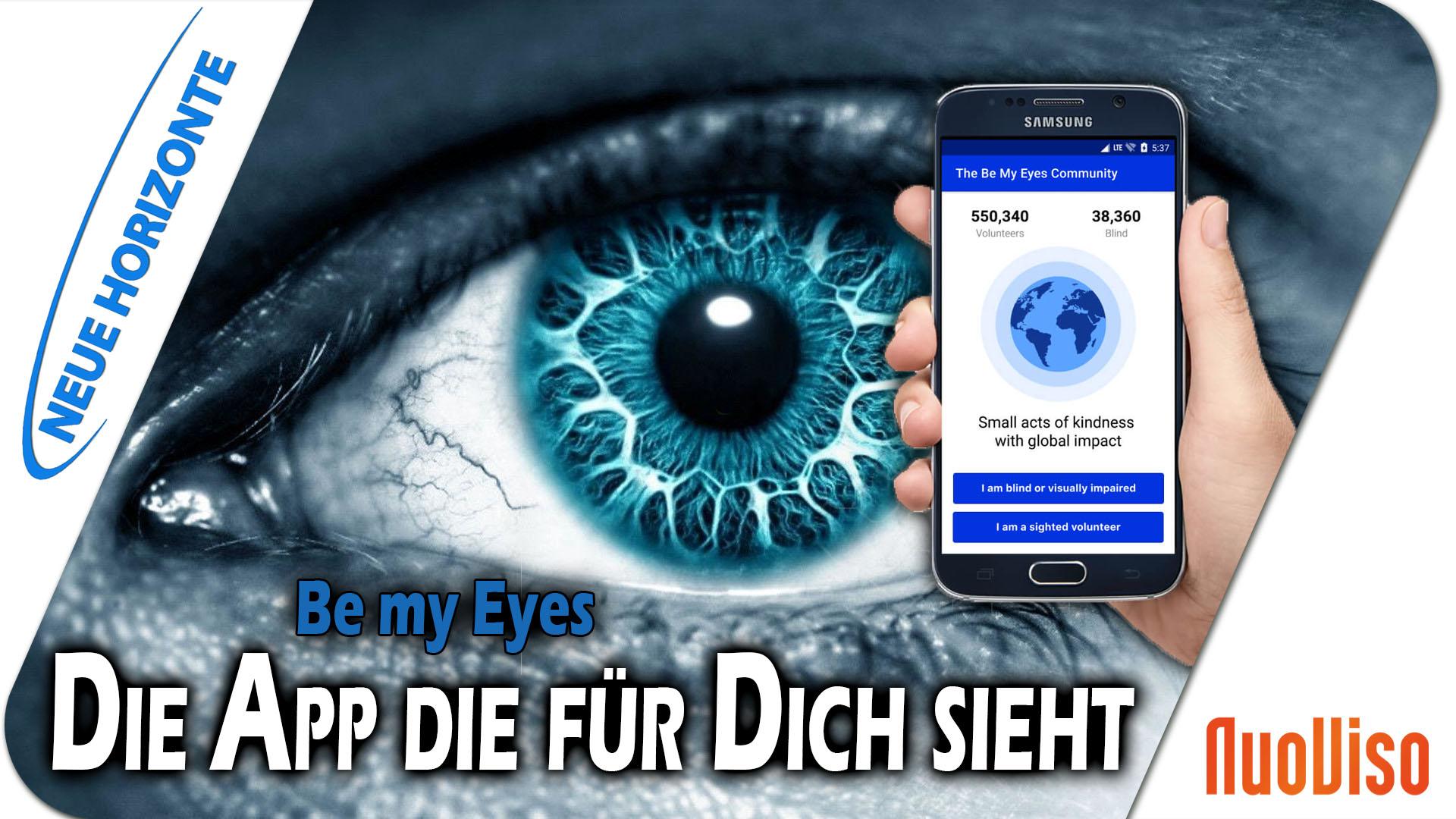 Sei meine Augen! – Be my Eyes! – Dietmar Lehmann