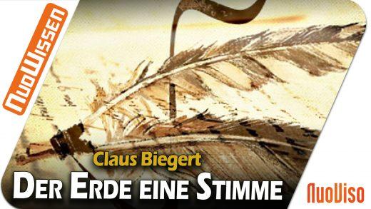 Der Erde eine Stimme! – Claus Biegert