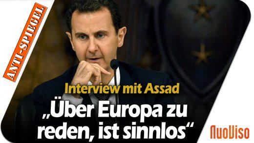 """Präsident Assad im Interview im russischen Fernsehen: """"Über Europa zu reden, ist sinnlos"""""""