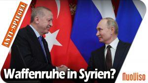 Nach dem Treffen von Putin und Erdogan: Hält die Waffenruhe in Syrien?