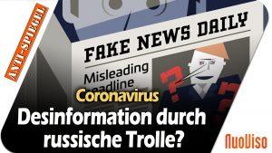 EU meldet Desinformation durch russische Trolle!