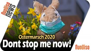 Dont stop me now! – Virtueller Ostermarsch 2020 in Leipzig