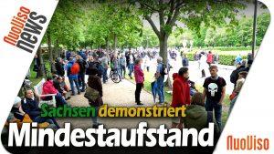 MINDESTAUFSTAND – Sachsen demonstriert (Teaser)