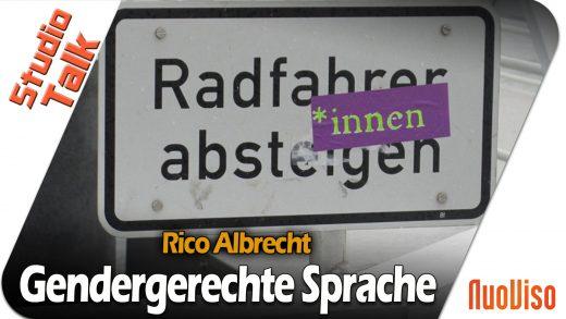 Gendergerechte Sprache – Julia Szarvasy und Rico Albrecht im NuoViso Talk
