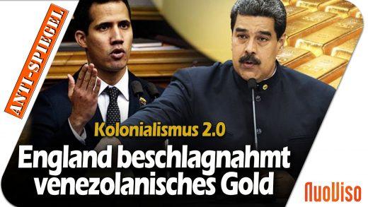 Kolonialismus 2.0: Britisches Gericht entscheidet, wer in Venezuela Präsident sein darf und zieht Gold ein