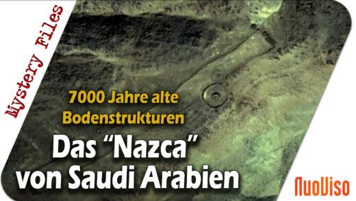 """Das """"Nazca von Saudi-Arabien"""": Rätsel um die 7.000 Jahre alten Bodenstrukturen in der Wüste"""