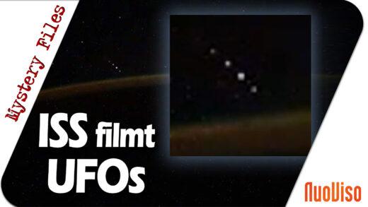 ISS Kosmonaut filmt 5 UFOs über der Erde: Weltraumschrott, Satelliten, Asteroiden oder …?