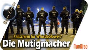 Fallschirm für Whistleblower? –  Polizist Bernd Bayerlein & Hardy Groeneveld im Gespräch
