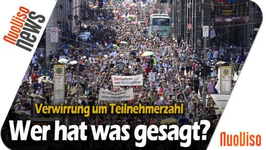 Berlin Spezial – Im Gespräch mit dem Organisator und Anführer des Demonstrationszuges (Nils Wehner)